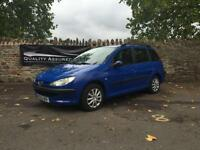 Peugeot 206 SW 1.4 HDi XL 5dr Good cheap runner Diesel blue