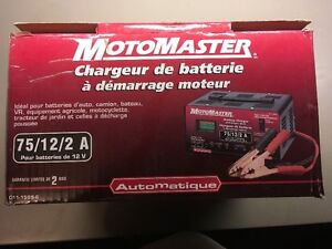 Battery Charger with Engine Start ( Moto Master)