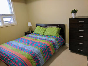 DOWNTOWN 2 bed, 2 bath, in suite laundry and central AC