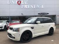 2010 Land Rover Range Rover Sport GTS OVERFINCH HSE ComShif 3.0 TDV6 Diesel whi