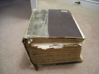 """Antique 1909 Medical Book:""""Health and Longevity (1383 pgs)"""