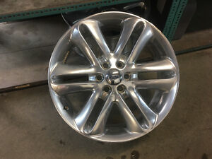 "OEM Ford 22"" rims only"