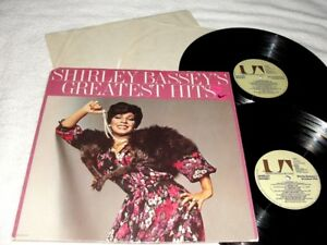 Shirley Bassey Greatest Hits 1976  2-LP's, NM