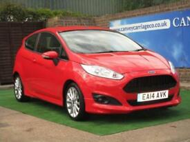 2014 Ford Fiesta 1.0 EcoBoost Zetec S (s/s) 3dr