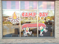 Window Art and Advertising / Hand Painted Signs