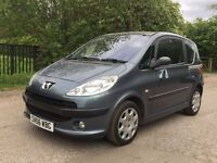 Peugeot 1007 automatic spotless