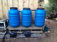 Rain Barrel Fundraising Sales