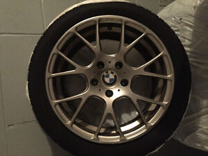Winter tires and rims fits BMW (225/45R17)