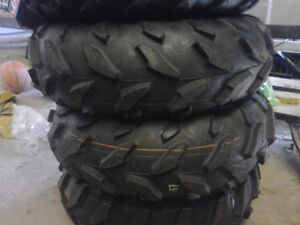 BRAND NEW YAMAHA 700 GRIZZLY TIRES AND RIMS
