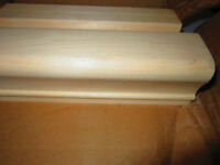 New Oak Stair Railings. New Maple Posts *Large Job Lot for Sale*