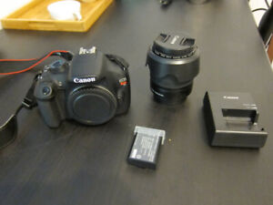 Canon DSLR Camera Rebel T5 and 18-55 lens