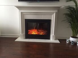 Electric fire suite SOLD.