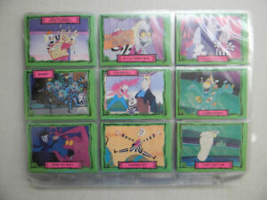 Beetlejuice Cards+Stickers 100 Cards &20 Stickers Missing#21+95