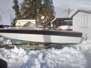 Boat trailer and boat