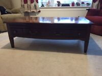 Table, coffee, low level rectangular (Furniture Village Ltd, Fontainbleau)