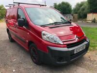 08 CITROEN DISPATCH 1.6 HDI 90 L1 H1 1000 1 OWNER LOVELY RED LOW 82K PX SWAPS