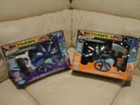 Selling A pair of RARE Early 2000's Skyhawk Flying R/C UFO's