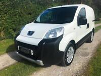 2014 63 PEUGEOT BIPPER VAN 1.3HDI 75 ATV PROFESSIONAL AIR CON WHITE NO VAT