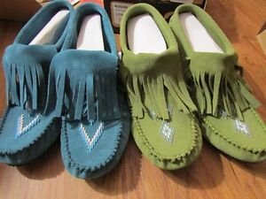 Manitobah Mukluks - authentic suede, brand new in box!