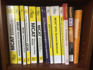 Princeton Review MCAT 2015 Full Book Set