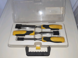 STANLEY WOODWORKING CHISELS