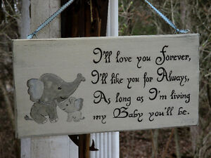 Personalized hand painted wood sign Kawartha Lakes Peterborough Area image 1