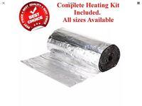 Underfloor Heating Mat - 8 meter squared