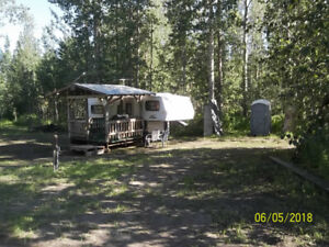 Private RV Campground 35 KM South Athabasca