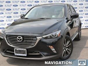 2016 Mazda CX-3 GT  GrandTouring,Roof,Nav,Leather
