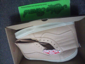 new in box leather vans all tags attached