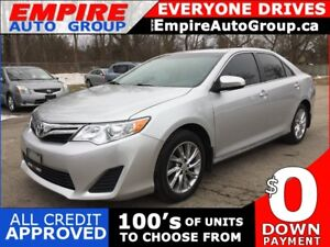 2013 TOYOTA CAMRY LE * REAR CAM * SUNROOF * LOW KM