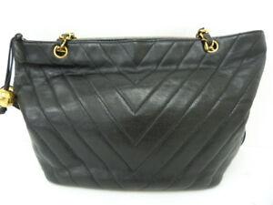 Authentic Chanel Caviar Shoulder Bag