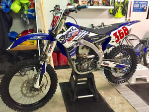 2016 YZF 450 Excellent condition