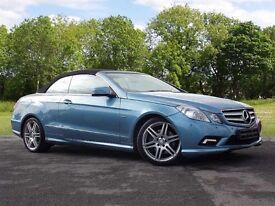 Mercedes-Benz E CLASS 3.0 E350 CDI BlueEFFICIENCY Sport 2dr (blue) 2010