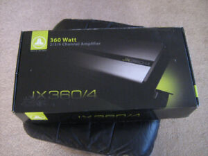 Car Amplifier JL Audio JX 360/4