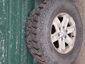 GMC truck wheels and tires 6 bolt