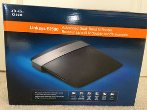 Linksys E2500 dual band N router