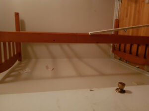 Twin Bed Frame For Sale (No mattress or box frame)