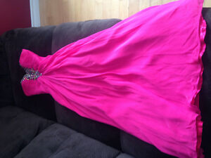 Cheap Pink prom dress