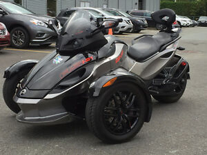 Can Am Spyder RS-S 2012 seulement 12000km financement possible