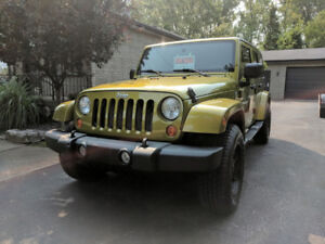 2007 Jeep Wrangler Unlimited For Sale (One Owner)