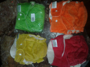 Several cloth diapers liner prefold covers !!!!