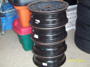 4 Winter Steel Rims for sale