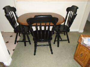 Table and 3 chairs for sale