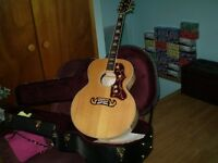 Gibson J-200 Accoustic Guitar