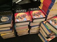 Loads of Harry Potter novels, majority are first editions