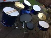 5piece adult drum kit