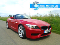 BMW Z4 2.5 23i M SPORT SDRIVE AUTOMATIC 2DR MELBOURNE RED - MEGA SPEC - MUST SEE