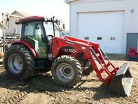 Used 83hp Tractor, Cab and Loader