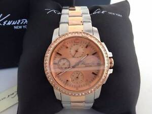 Brand New Kenneth Cole Watch Ladies New York Two Tone Day Date Carlton Melbourne City Preview